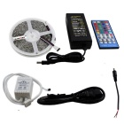 KINFIRE 72W 6000K 300 x 5050 SMD LED RGB & White Light Strip + 40-Key Controller + US Plug Adapter