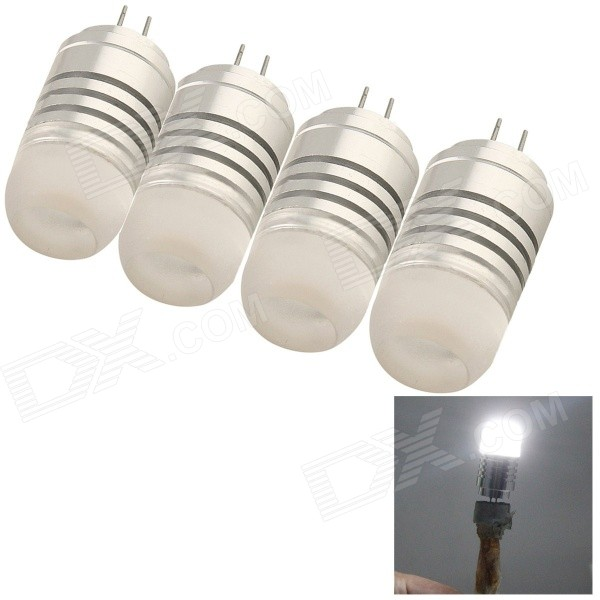 YouOkLight G4 4W LED Cold White Light Bulb (4PCS)
