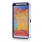 Protective Silicone Back Case Cover for Samsung Note 3 N9000 - White