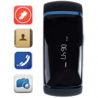 Aoluguya S13 Smart Bluetooth Bracelet w/ OLED, Remote Shutter, Sports Monitor, Anti-lost - Blue