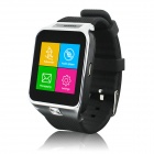 "WP-S29 1.54"" Smart Bluetooth Wrist Watch w/ Synchronize Phone / FM / Camera / MP3  - Silver + Black"