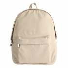 Xiaomi Fashionable Canvas Student Backpack - Khaki