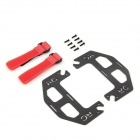 Carbon Fiber Dual Battery Mount Plates for FPV Aerial Photo Video DJI Phantom Quadcopter