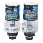 D4C/D4S /D4R 35W 3200lm Cold White HID Xenon Lights Car Lamps(2PCS)