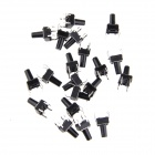DIY 6 x 6 x 10mm Slightly Touch Switch Button Switch (20 PCS)