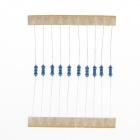DIY 1/4W 2.7K~75K Color Ring Metal Film Resistors Pack - Light Blue