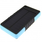 Universal Portable 5V 4000mAh Li-polymer Battery Power Bank w/ LED Indicator - Blue + Black