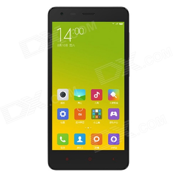 XiaoMi Redmi 2 Android 4.4 Quad-core FDD-LTE Bar Phone w/ 4.7″ Screen HD, 8GB,Wi-Fi – Black + White