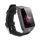 "G5 1.5"" Capacitive Touch Screen GSM Watch Phone w/ Bluetooth V3.0, FM, GPS, TF Card - Black"