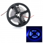 JR-LED 72W 3000lm 470nm 300-SMD 5630 LED Blue Light Strip w/ Controller - White + Black (5M / DC12V)