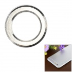 Protective Aluminum Alloy Lens Guard Ring Sticker for IPHONE 6 - Silver