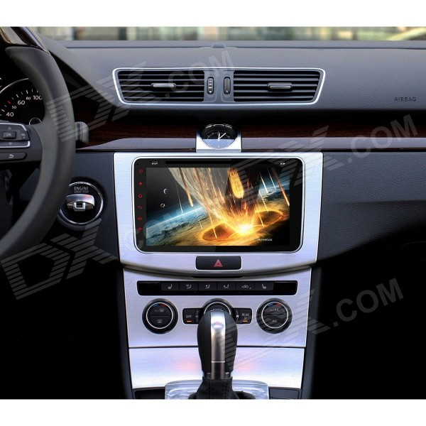 joyous  android  car dvd player gps  vw jetta polo black  shipping dealextreme