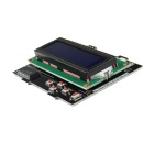 Negative 16 x 2 RGB LCD with Keypad Kit for Raspberry Pi B & B+