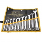 BESTIR BST-97223 Hand Tools Polished Combination Wrench Spanner Set (8-22mm)
