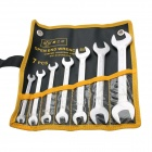 BESTIR BST-97307 Hand Tools 7PCS Matte Dual-Head Wrench Spanner Set (5.5~24mm)