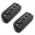 BT-S1 2 x 1000m Interphone Bluetooth Motorcycle Motorbike Helmet Intercom Headset w/ FM (2 PCS)