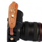 LYNCA E1S Universal PU Wrist Strap + Fast-Assembling Mount for DSLR Cameras - Brown