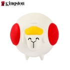 Kingston DTCNY15 Lovely Plump Sheep Style USB 2.0 Flash Drive - White + Red (16GB)
