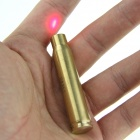8MM Bullet-muotoinen messinki Red Dot Laser Bore Sighter-Brassy (4 * LR41)