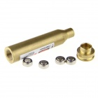 REM MAG 7mm Bullet-muotoinen messinki Red Dot Laser-Brassy (4 * LR41)