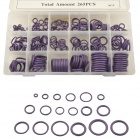 CARKING 18-Size Auto Car HNBR Air Condition Seal O Ring Set - Purple
