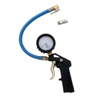 BESTIR BST-07613 Shockproof Tire Air Pump Inflator for Car / Motorcycle / Bike w/ Pressure Gauge