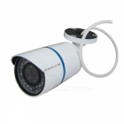 HOSAFE 2MB2W 1080P 2.0MP Waterproof Security IP Camera w/ 36-IR LED, POE - White