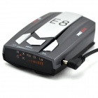 "E8 1.5"" Screen 360 Degree Bilingual Digital Radar Laser Detector - Grey + Silver + Black(12V)"