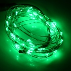 5W 50lm 523nm 50-LED Green Holiday Light String w/ Controller(5M)