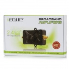EDUP EP-AB007 2.4GHz Wi-Fi Signal Booster Broadband Amplifier - Black