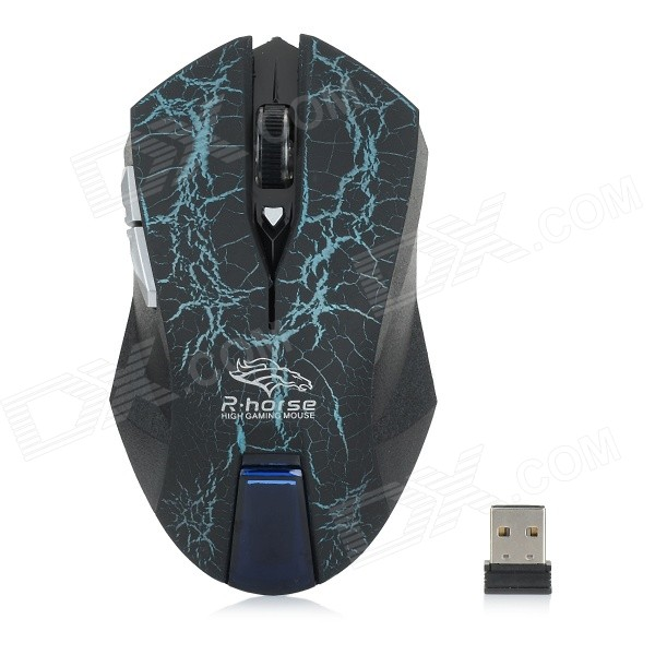 R Horse Gaming Mouse R Horse RF-6340 2 4GHz