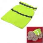 Glow-in-the-Dark Polyester Pet Dog Apparel - Fluorescent Green (M)