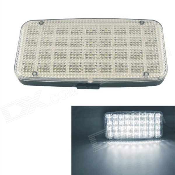 GT-698 4W 110lm 6000K Car 36-LED White Dome Roof Ceiling Interior Lamp
