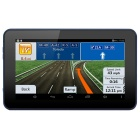 "7"" 720p Android 4.4.2 Car GPS Navigator DVR WiFi 8GB EU Map - Black"