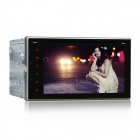 "6.2 ""Full Touch Android 4.4.4 Car DVD Player com 1080P, Wi-Fi, DVR, OBD2, MIC externo - Preto"