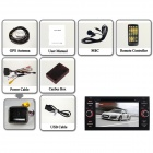 Android 4.4 bil DVD-spiller for Ford Focus / Mondeo / Kuga - svart