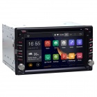 Android 4.4.4 Double Din Autoradio Stereo DVD Player w/ GPS, BT, DVR OBD2, Wi-Fi, External MIC