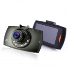 "2.7'' TFT 1/2.7"" CMOS Full HD1080P Car DVR Recorder w/ 5.0MP Camera / G-sensor / 6-IR-LED - Black"