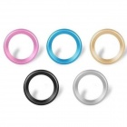 Aluminum Alloy Camera Lens Protector Sticker for IPHONE 6 4.7'' - Multicolored (5 PCS)