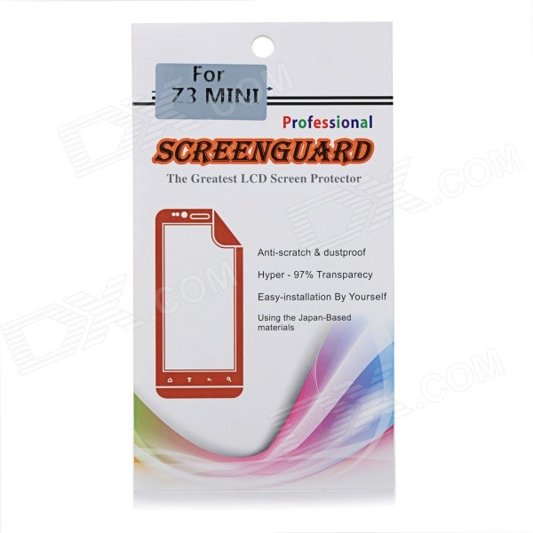 Clear PET Screen Protector Film Guard for Sony Z3 Mini / Z3 Compact - Transparent (5 PCS)