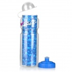 NUCKILY R015 Convenient Water Bottle for Cycling - Blue (400mL)