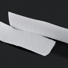 Self-Adhesive Nylon Velcro Hooks & Loops Tapes Set - Branco (85 * 2.2cm)