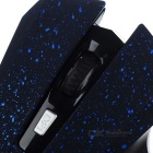 1000 / 1200 / 1600DPI Wireless LED Gaming Mouse - Black + Blue