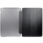 Mr.northjoe 3-Fold Protective PU Leather Case Cover Stand - Black