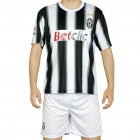 Juventus National Football/Soccer Team Sports Suit - L (Black + White)