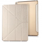 Mr.northjoe 3-Fold Protective PU Leather Case Cover Stand w/ Auto Sleep for IPAD AIR 2 - Gold