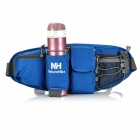 NatureHike Outdoor Sports Cycling Waist Bag for Cellphone / Water Bottle / Gadgets Storage - Blue