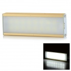 3W 145lm 6100K 16-SMD 5152 LED White Light USB Dimming Bar Tube Lamp - White + Gold