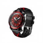 GUMBO Smart Bluetooth V4.0 Free Charging Quartz Watch w/ Call Reminder / Remote Camera - Red