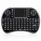 iPazzPort KP-810-21L Wireless 2.4GHz USB Mini 92-Key Keyboard w/ Touch Pad - Black (2 x AAA)